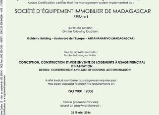 Certification APAVE