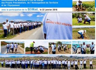 Participation au reboisement organisé par le MEPATE