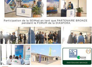 SEIMad anisan'ny mpandray anjara tamin'ny Forum de la diaspora